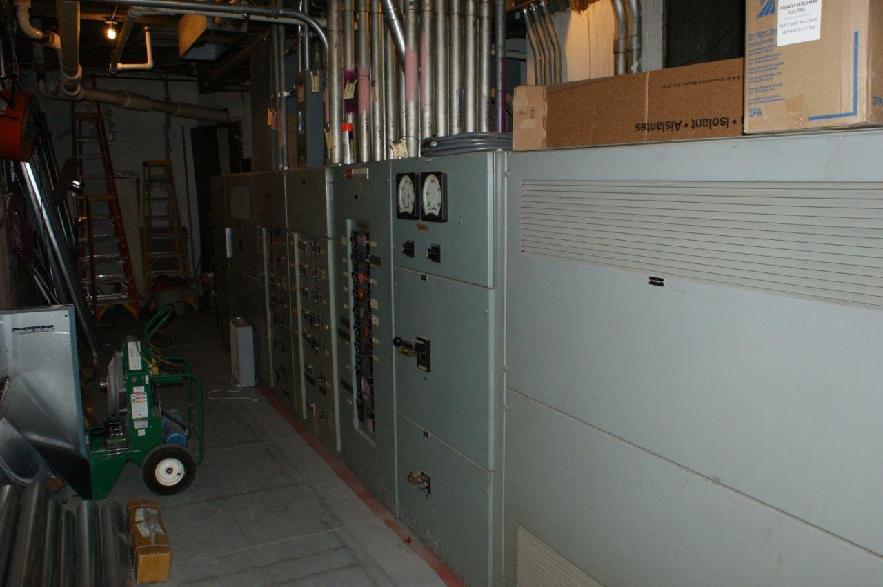 Exsiting NE Electrical Room
