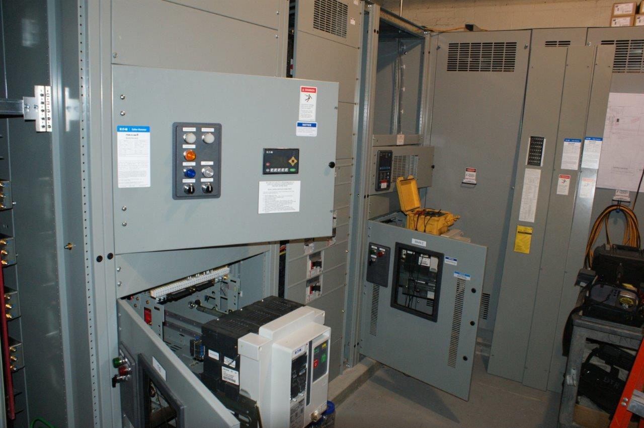 Testing Automatic Switchgear in Northwest Electrical Room