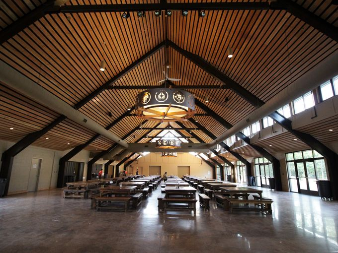 A sneak peek inside the new S bar F Dining Hall