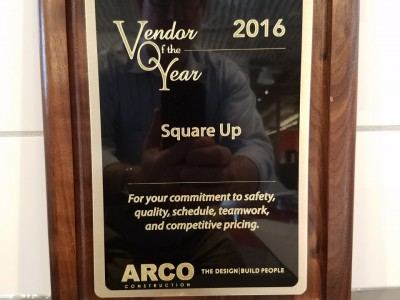 2016 ARCO Vendor of the Year