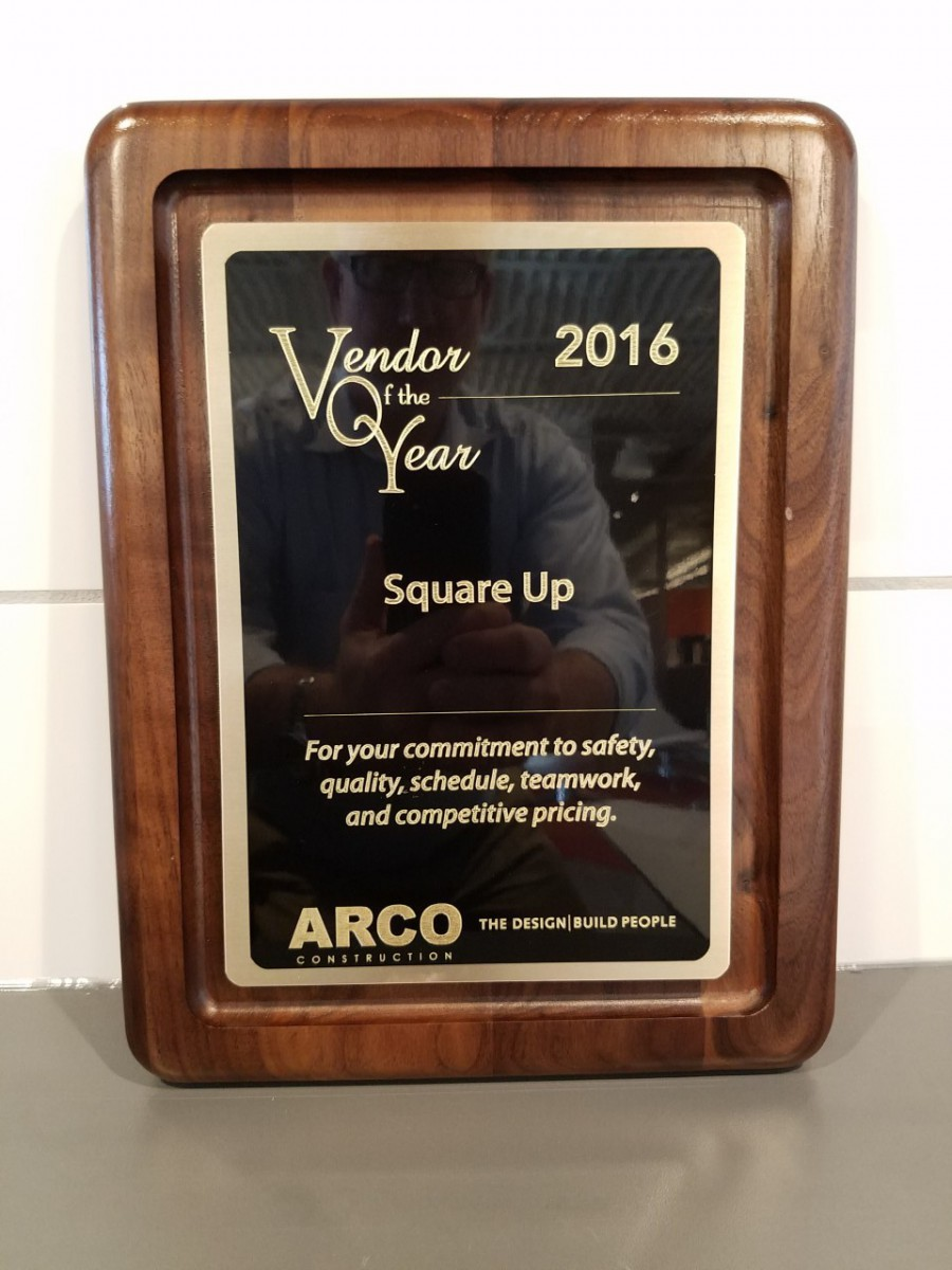 Square UP Named Vendor of the Year