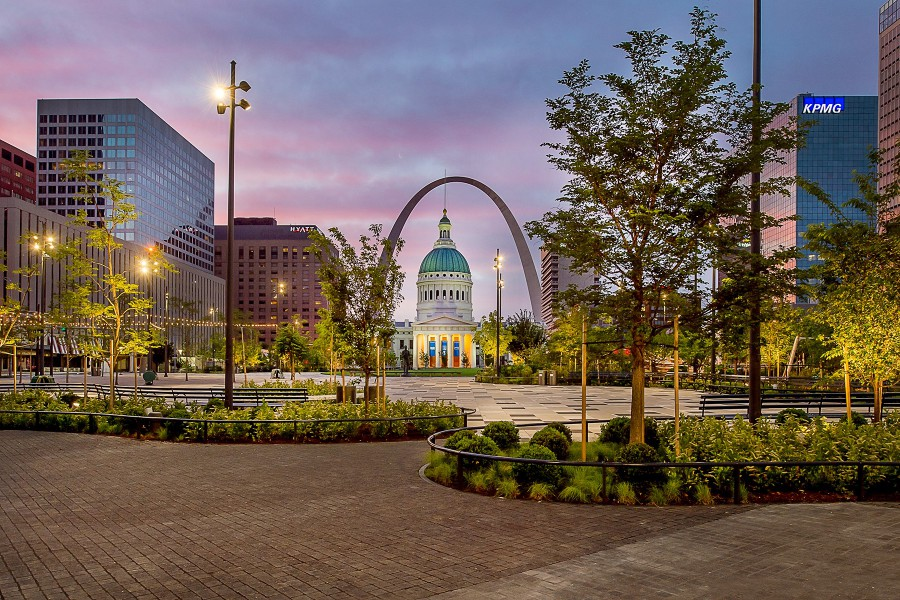 Power UP Receives 2017 AGCMO Project of the Year Keystone Award for St. Louis Kiener Plaza Renovation Project